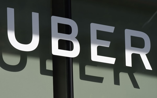 Cuartel general de Uber en San Francisco, California. AFP PHOTO / Robyn Beck