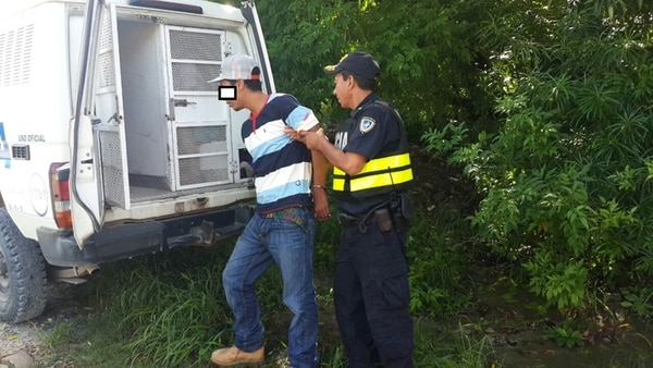 Ortiz (27 años) fue detenido en Nazareth de Liberia.   MSP PARA LA NACIÓN