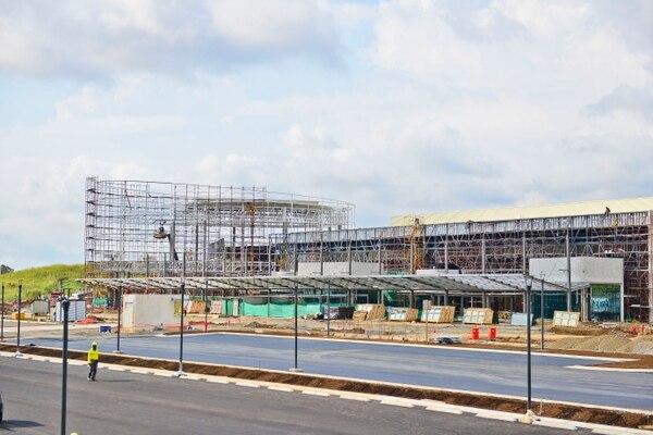El Centro Nacional de Congresos y Convenciones (CNCC) presenta un avance de construcción del 90% a enero del 2018. Foto cortesía del ICT.