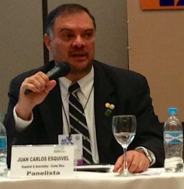 Un costarricense presidirá el foro internacional que se celebrará en nuestro país. Él es Juan Carlos Esquivel Favareto, doctor en Derecho y vicepresidente de la Federación Interamericana de Abogados (FIA). Fotografía cortesía