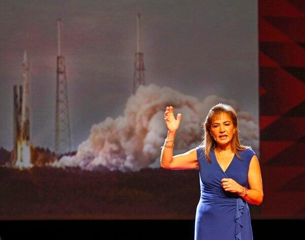 Sandra Cauffman respalda la iniciativa MenTe. | MAYELA LÓPEZ.