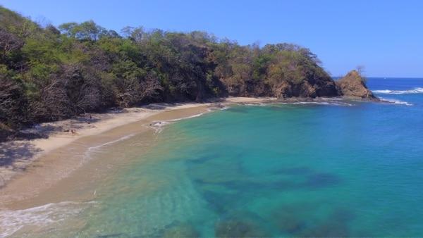 Playa Bonita: un lugar oculto en medio del golfo de Papagayo. Encuentre aquí arena blanca y agua cristalina.