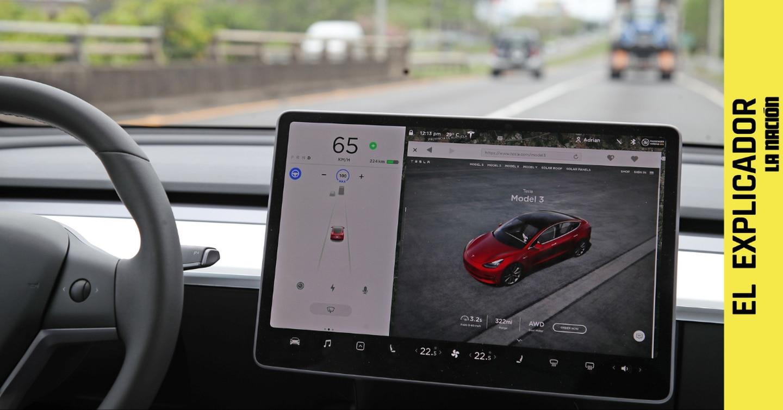 El Explicador | Cómo funcionan los Tesla que se manejan solos y cómo va esta tecnología en Costa Rica