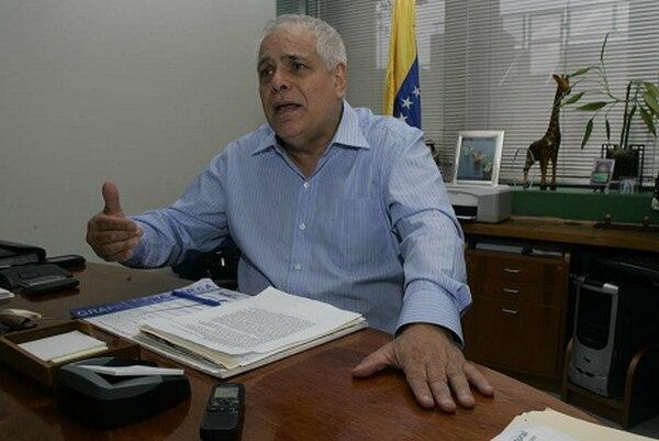 Enrique Mendoza, dirigente de Copei.