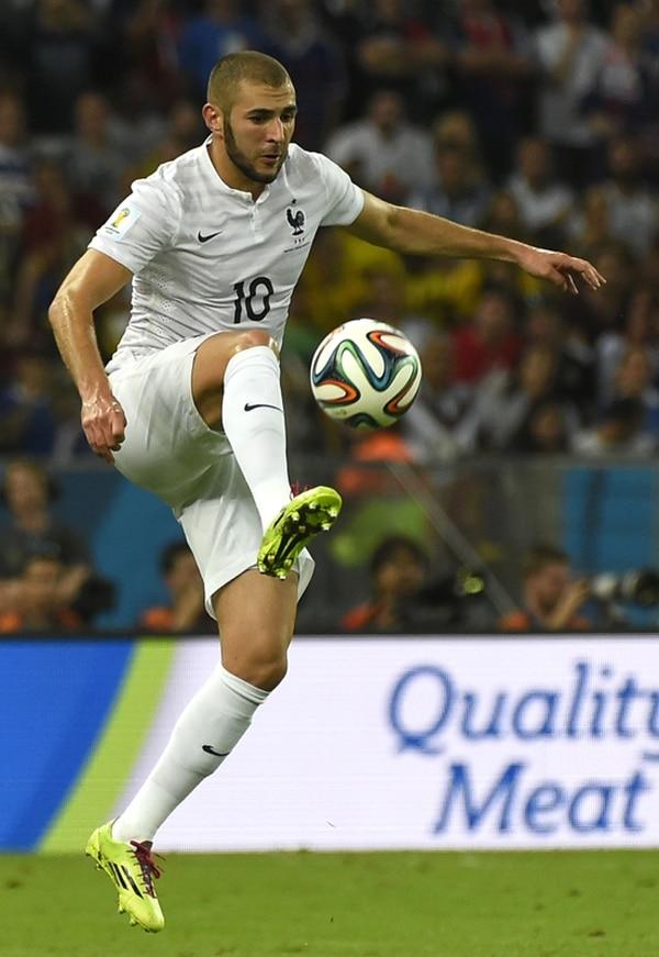 Benzema luce como la figura de una Francia más unida. | AFP