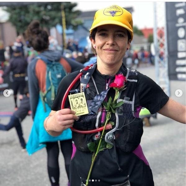 Andrea en la Leadville 2018