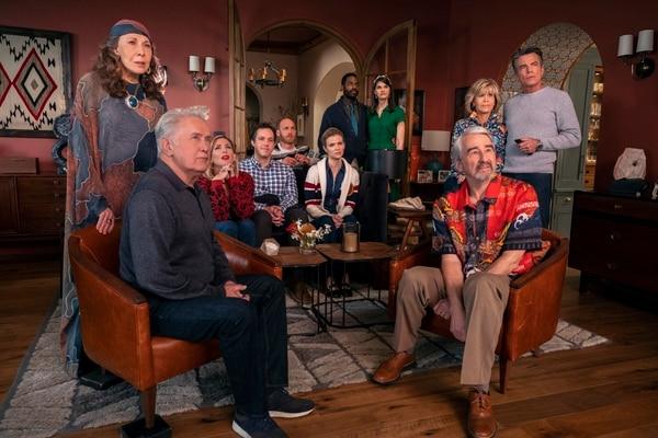 La sexta temporada de 'Grace and Frankie' está compuesta por 13 episodios de media hora. Fotografía: Netflix para La Nación