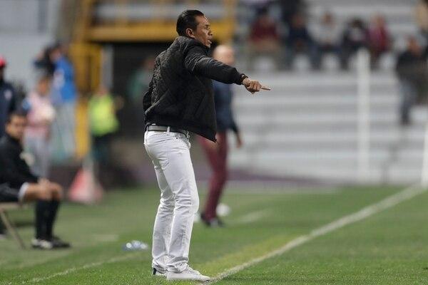 Wálter Centeno durante uno de los partidos del Saprissa de la temporada anterior. Foto: José Cordero