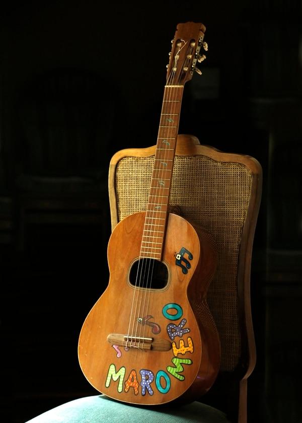 La guitarra que ha acompañado a