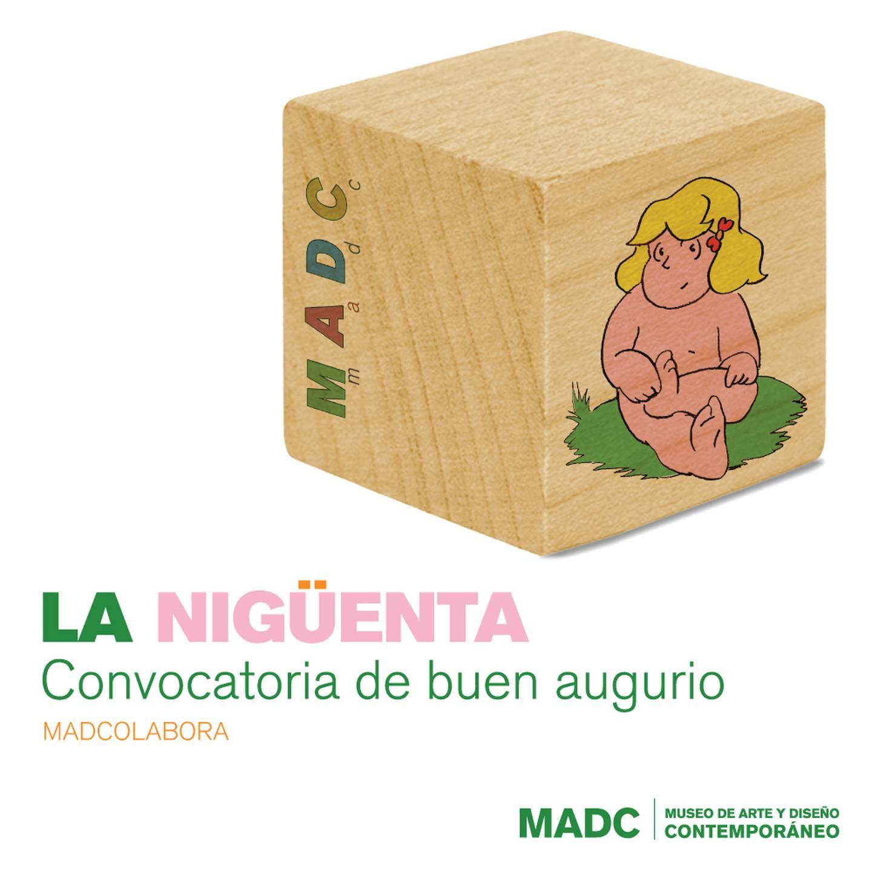 Convocatoria del Museo de Arte y Diseño Contemporáneo (MADC) 'La Nigüenta. Convocatoria de buen augurio'. Fotografía: MADC para La Nación