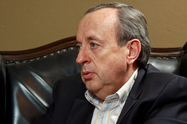 Calderón afirmó que se siente contento por la notificación que recibió. Foto: Archivo