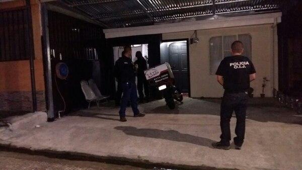 El operativo que permitió desestructurar la organización criminal comenzó a las 5 a. m. Foto: Carlos Hernández, corresponsal GN