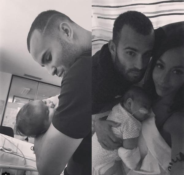 La pareja ha estado muy unida por el bien del bebé.