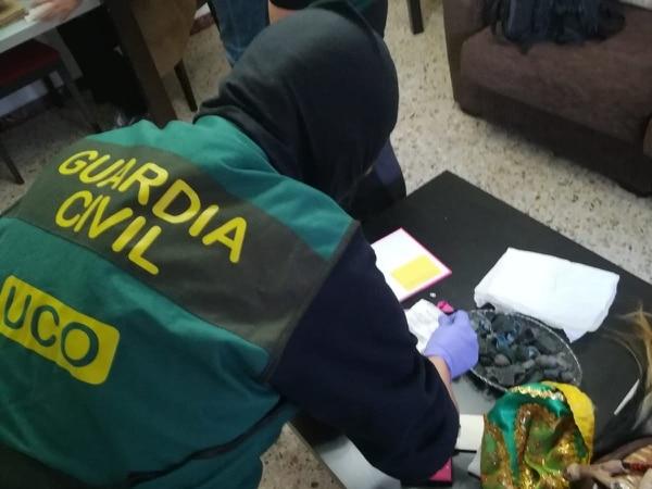 11/01/2019. España. Allanamientos por secuestro de empresario estadounidese radicado en Costa Rica. Foto: OIJ para LN