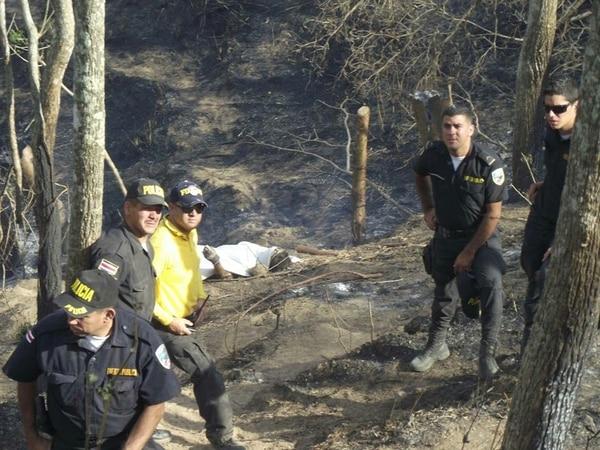 Este año falleció el bombero voluntario Andrés Cruz. Atendía un incendio forestal en Turrubares.