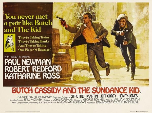 Además de su talento, Robert Redford y Paul Newman explotaron sus atractivos físicos en Butch Cassidy y Sundance Kid (1969). | FOTOGRAFÍA: ARCHIVO.