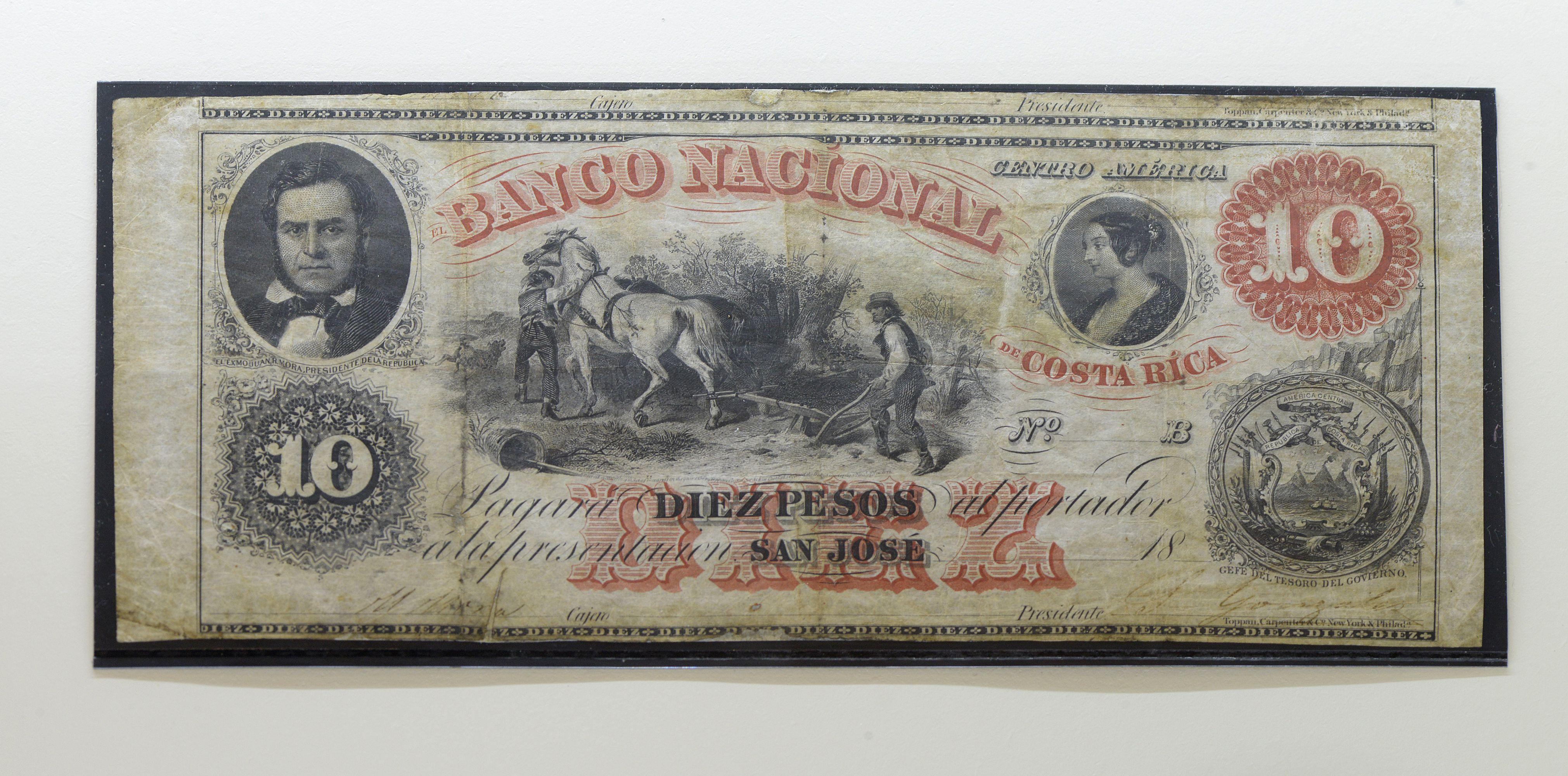 Un billete tico con la imagen de la Mona Lisa?, exhibición recorre 229 años  de historia del dinero – La Nación