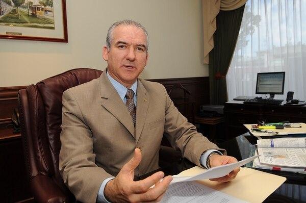 Juan Carlos Corrales se desempeñó como gerente general a.í. desde la salida de Fernando Naranjo en enero anterior.