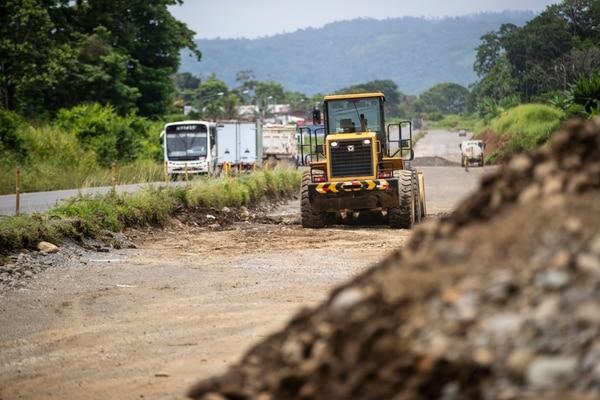 En noviembre del 2017, el gobierno de Luis Guillermo Solís dio la orden de inicio de obras sin estar listos los diseños. Fotografía José Cordero