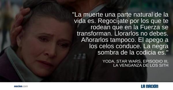 Yoda, Star Wars, episodio III, 'La Venganza de los Sith'.