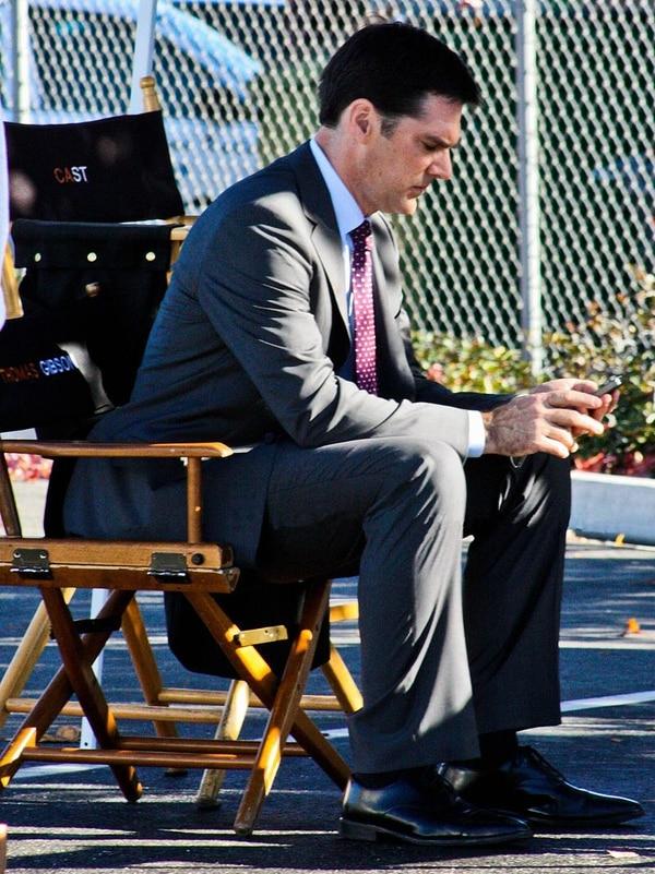 Thomas Gibson dirigió varios episodios de 'Criminal Minds' para CBS.