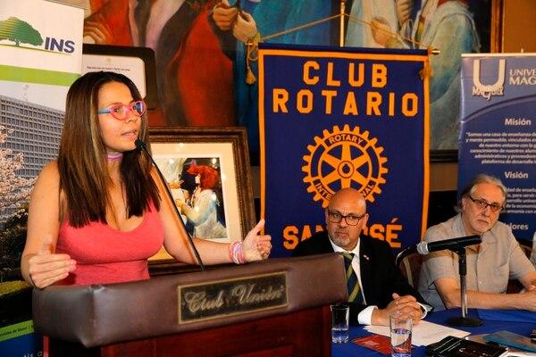 Fadir Delgado durante la conferencia de prensa. Fotos: Mayela López
