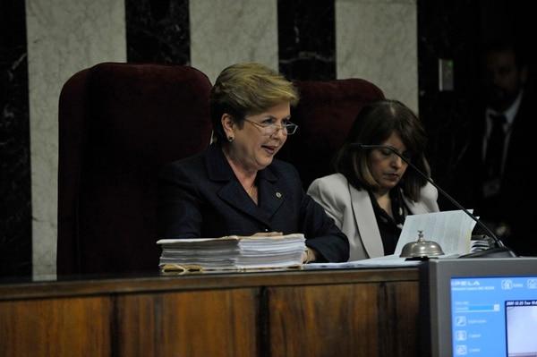 La magistrada Magda Pereira ordenó, el lunes, el estudio del expediente clínico de Angulo.   ARCHIVO / JORGE NAVARRO.