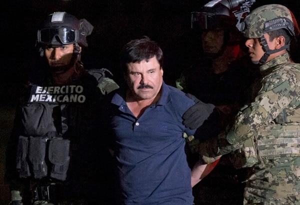 El Chapo fue recapturado el 8 de enero en su natal Sinaloa. | AP