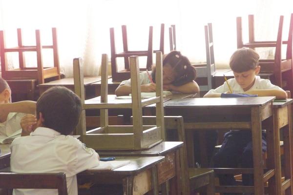 A la educación pública se le asignó un monto correspondiente al 7,2% de la producción estimada para el 2014