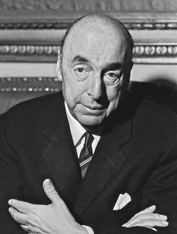 Fotografía de Neruda en 1971.