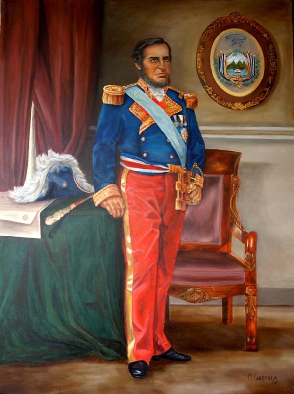 Retrato del capitán general Juan Rafael Moral