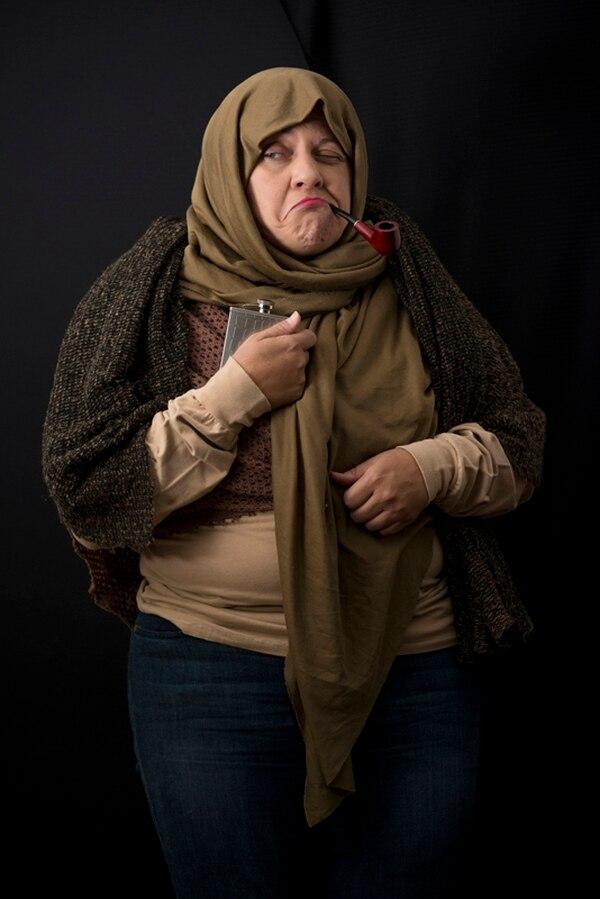 Marcia Saborío es una de las expertas en comedia que tendrá este montaje.   TEATRO ESPRESSIVO/ LN