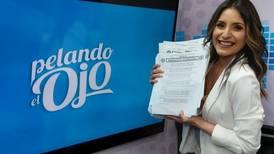 Natalia Monge anuncia su salida de 'Pelando el ojo', tras 11 años en el programa de comedia