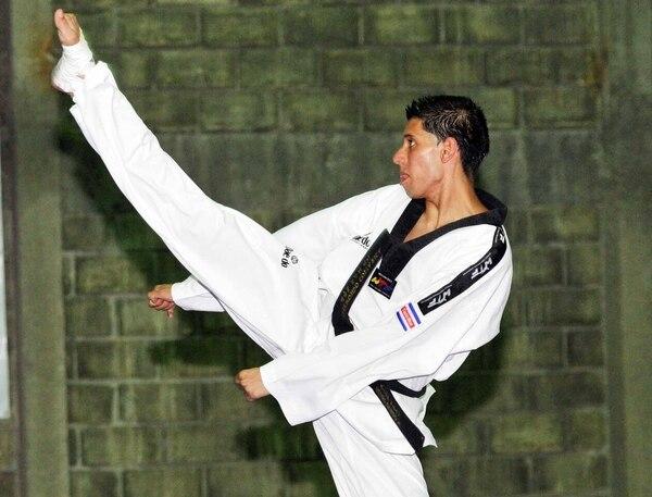 Heiner Oviedo representó a Costa Rica en los Juegos Olímpicos de Londres 2012.