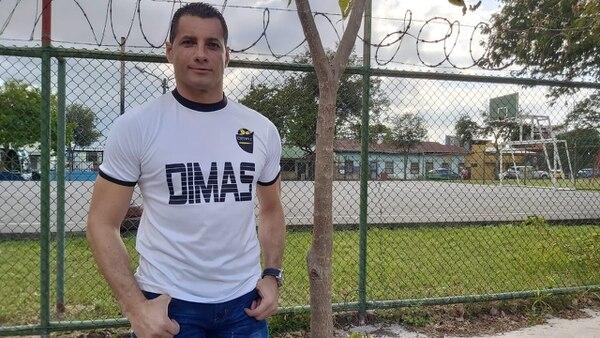 Giovanni Guerrero, es portero de Dimas Escazú. Foto: Cortesía