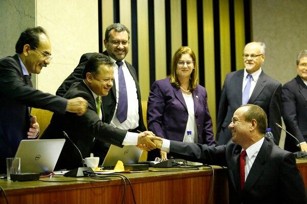 Wálter Espinoza Espinoza fue designado por la Corte Plena como nuevo director del OIJ el pasado 23 de noviembre. El cargo lo empezó a asumir oficialmente el 1° de diciembre. Antes de ser seleccionado fungía como fiscal adjunto del Crimen Organizado. | ADRIÁN SOTO