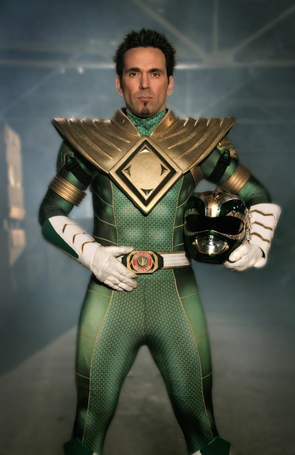 Como el Green Ranger, Jason David Frank se ganó el corazón de los fans de 'Power Rangers'. Foto cortesía Jason David Frank.