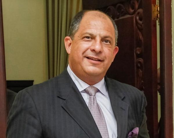 Luis Guillermo Solís anunció, a finales de mayo, su intención de presentar un informe sobre las condiciones en que recibió el Estado. | ARCHIVO