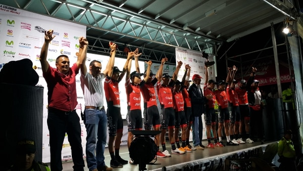 Coldeportes Claro se proclamó campeón por equipos en la Vuelta a Colombia que finalizó el 15 de agosto.