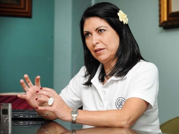 Dinorah Garro es gerente de Logística de la CCSS.
