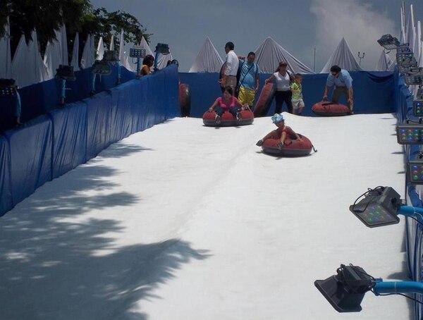 La villa de nieve estará en el país por 70 días a partir del 21 de noviembre.