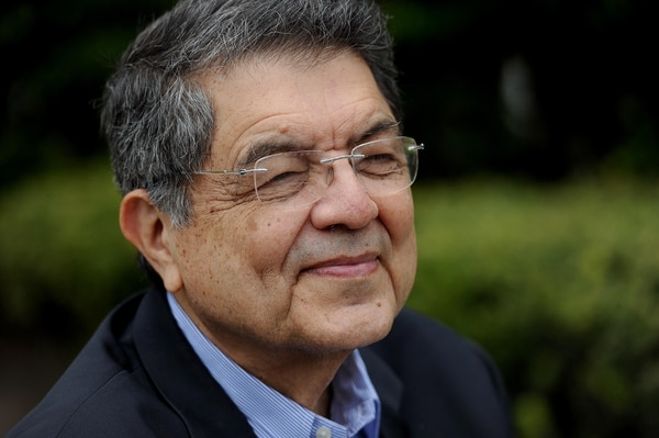 15/03/2018. La Sabana, Museo de Arte Costarricense. Sergio Ramírez, escritor y político nicaragüense, ganador del Premio Cervantes 2017. Fotos Melissa Fernández