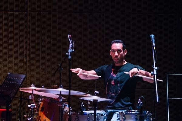 Versátil. Antonio Sánchez ya tiene cinco discos como líder. A Costa Rica vino en esta ocasión con su banda Migration.