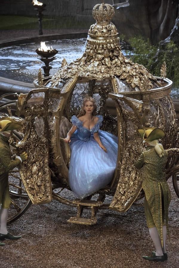 La película 'La Cenicienta' llegará a las salas de cine en marzo del 2015.