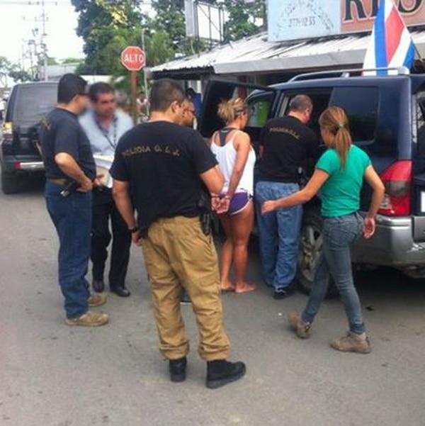 La captura la realizaron en Quepos agentes de la sección de Legitimación de Capitales.