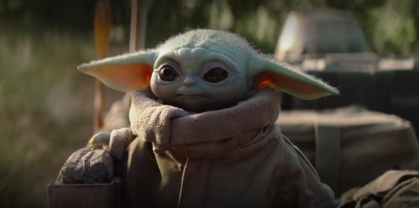 Baby Yoda en 'The Mandalorian', la nueva serie de Disney+