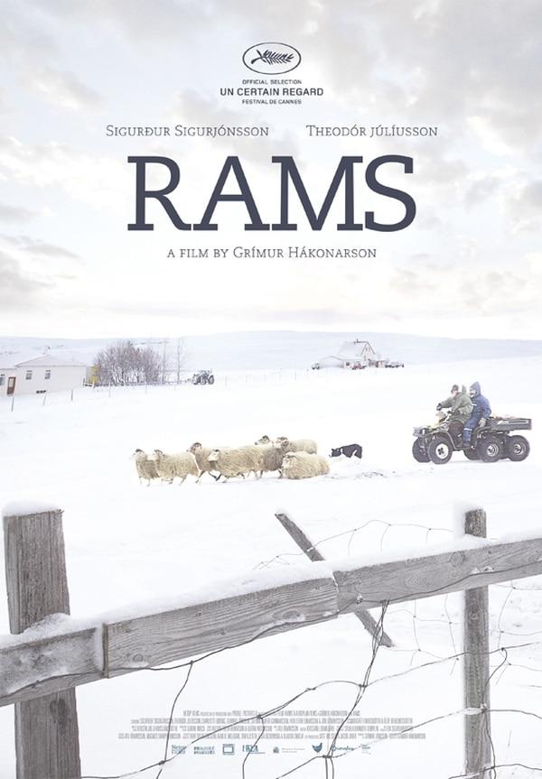 Póster del filme islandés 'Rams'. Archivo