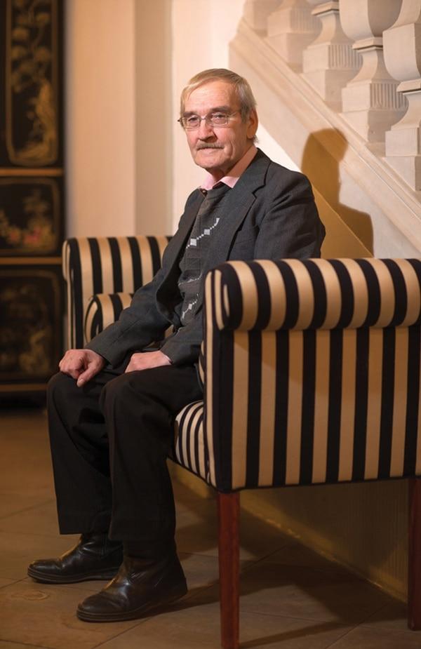 Stanislav Petrov está jubilado y recibe homenajes desde hace un tiempo. Acá, a principio de año en Alemania. | CORBIS