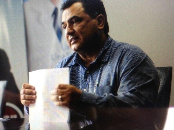 Humberto Vargas presentó a Hernández su renuncia al cargo de jefe de campaña, pero acotó que este no se le ha aceptado aún.