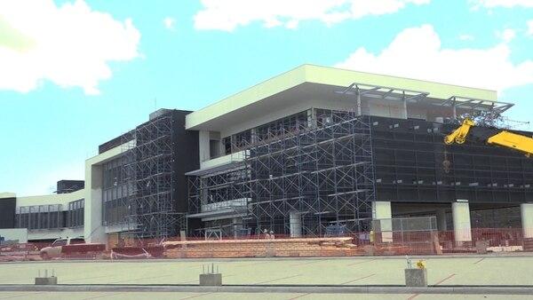 La construcción de la planta de concentrados de Coca-Cola en Liberia lleva un 75% de avance. En vista de eso, la compañía estima que se terminará antes del previsto 1.° de enero del 2020. Foto: suministrada por la empresa